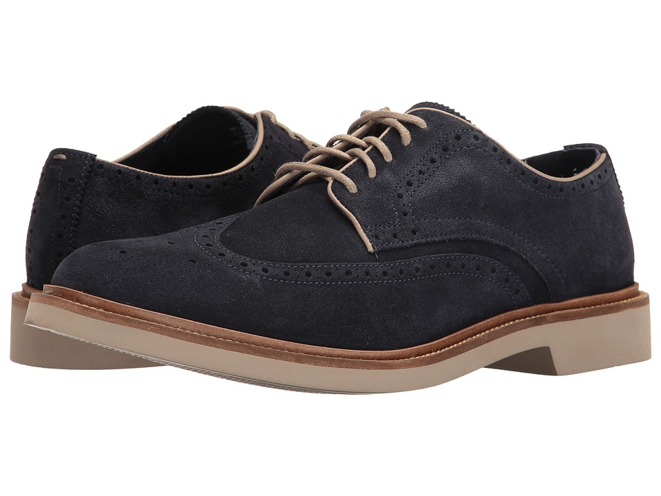 Cole Haan - Monroe Wing Ox II (Gulf Suede) Men's Lace up casual Shoes