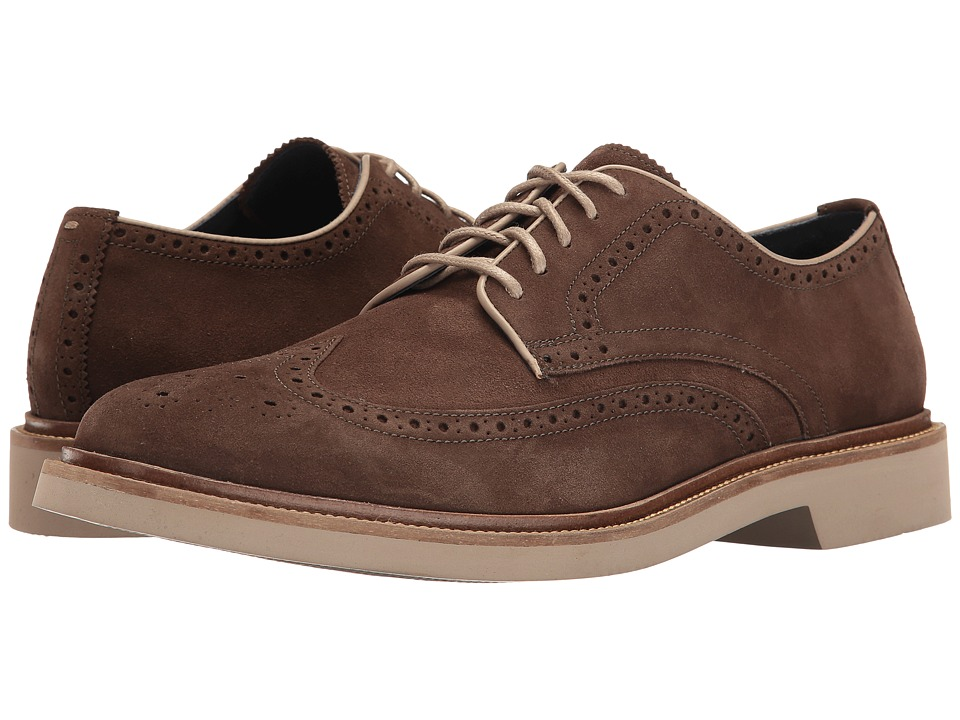 Cole Haan - Monroe Wing Ox II (Sapor Suede) Men's Lace up casual Shoes