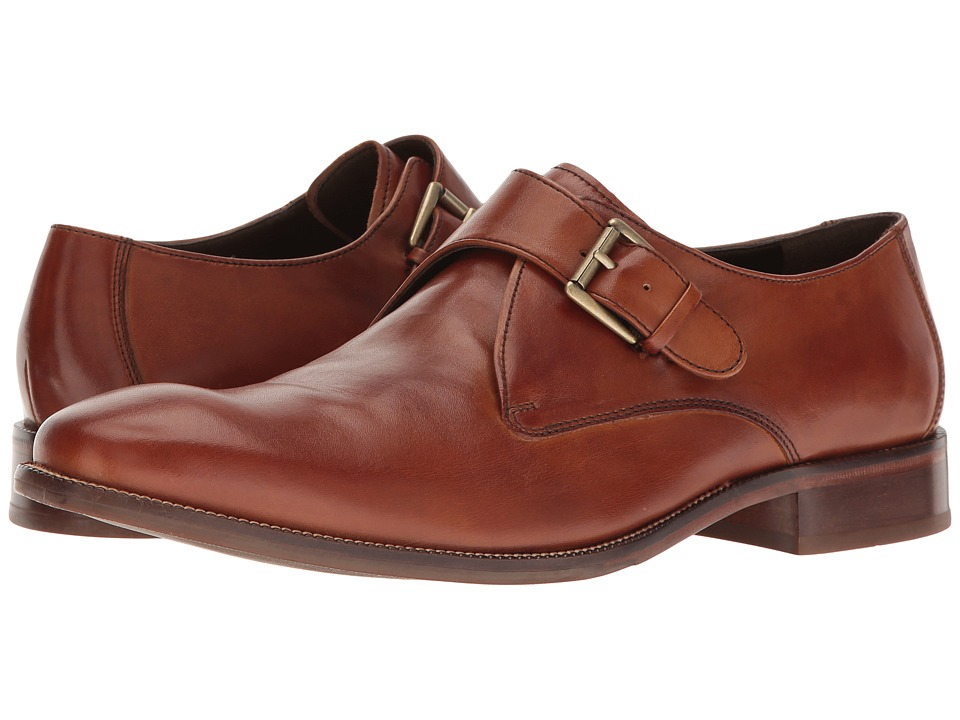 Cole Haan - Williams Monk II (British Tan) Men's Shoes