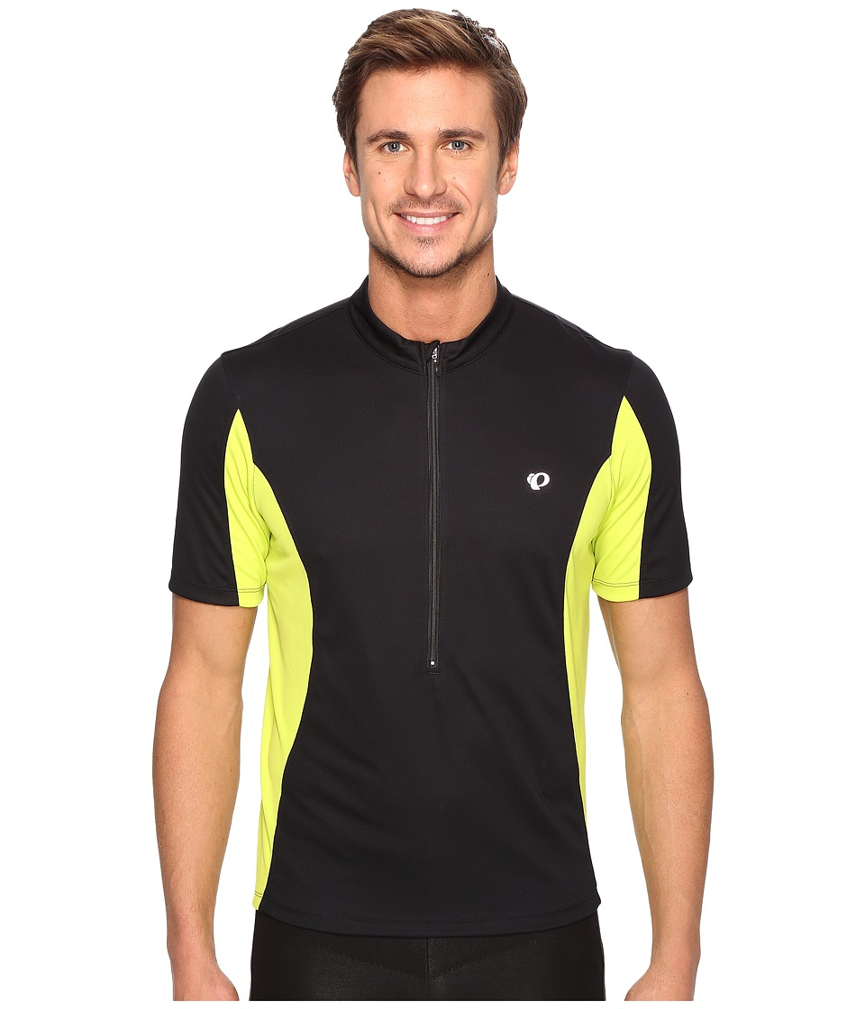 Pearl Izumi - Select Tour Jersey (Black/Lime Punch) Men's Clothing