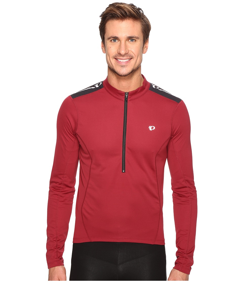 Pearl Izumi - Select Quest Long Sleeve Jersey (Tibetan Red) Men's Clothing