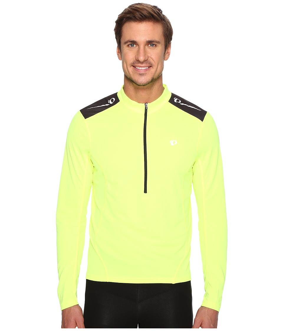 Pearl Izumi - Select Quest Long Sleeve Jersey (Screaming Yellow) Men's Clothing