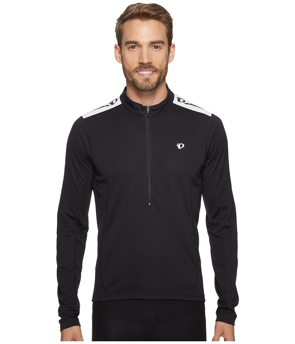 Pearl Izumi - Select Quest Long Sleeve Jersey (Black) Men's Clothing