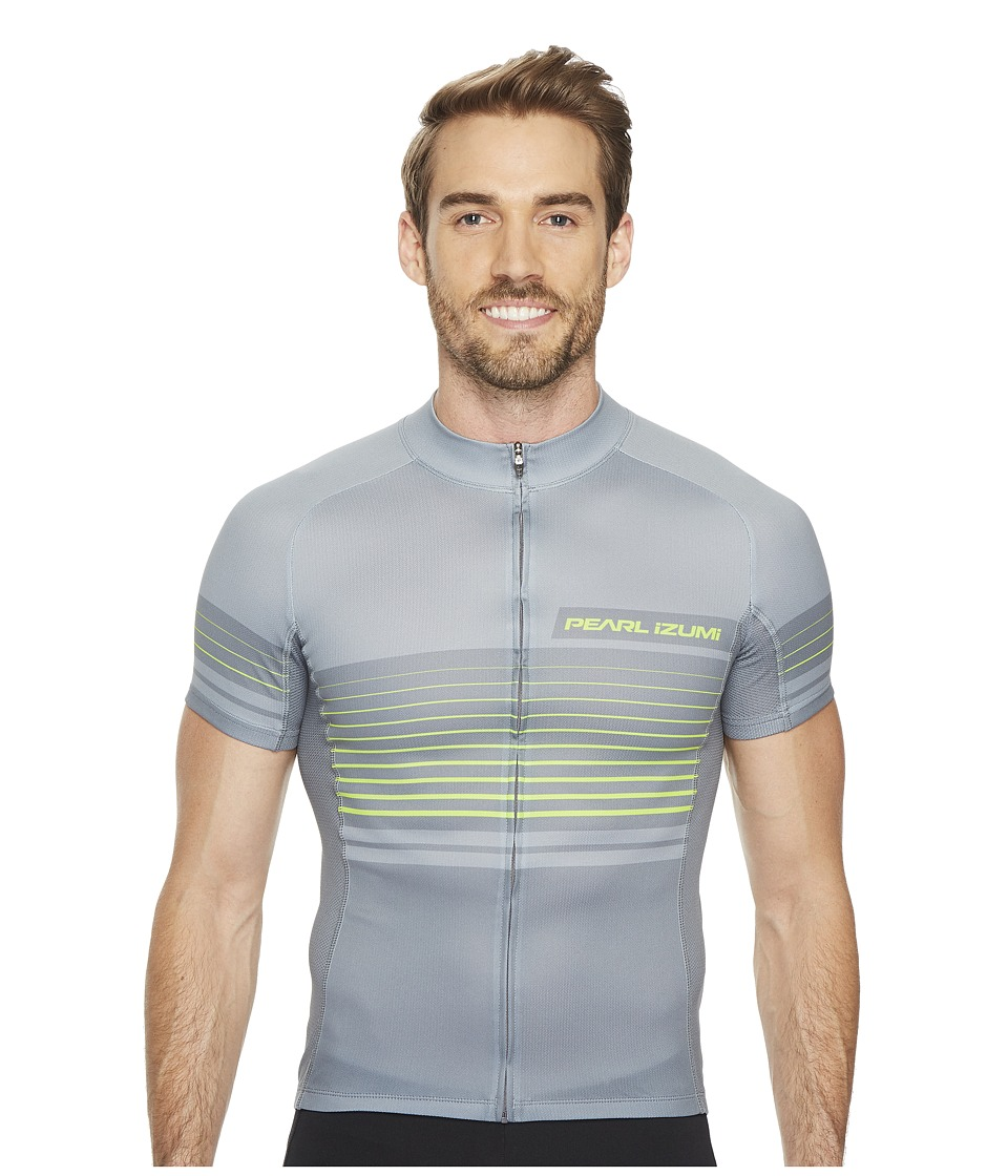 Pearl Izumi - Elite Escape Limited Jersey (Linear Smoked Pearl) Men's Clothing