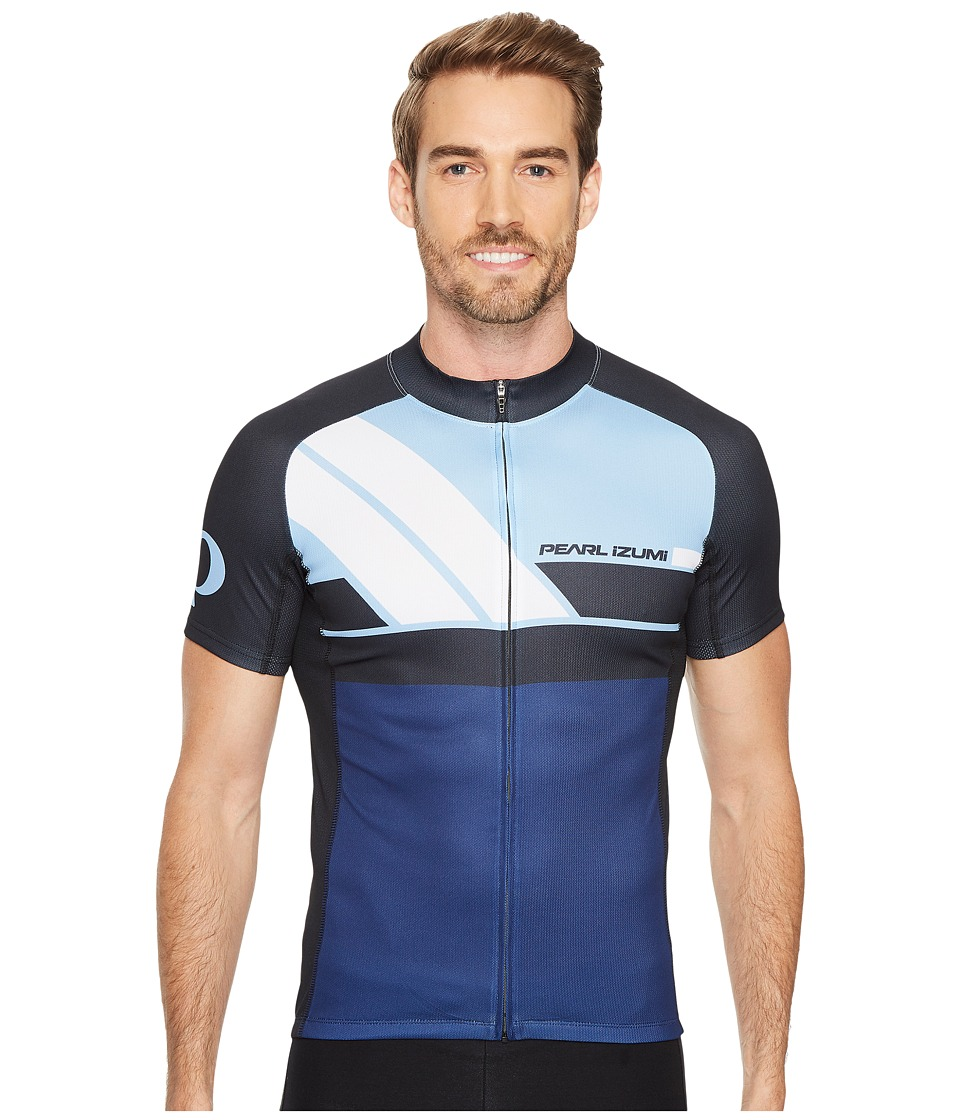 Pearl Izumi - Elite Escape Limited Jersey (Diagonal Blue X2) Men's Clothing