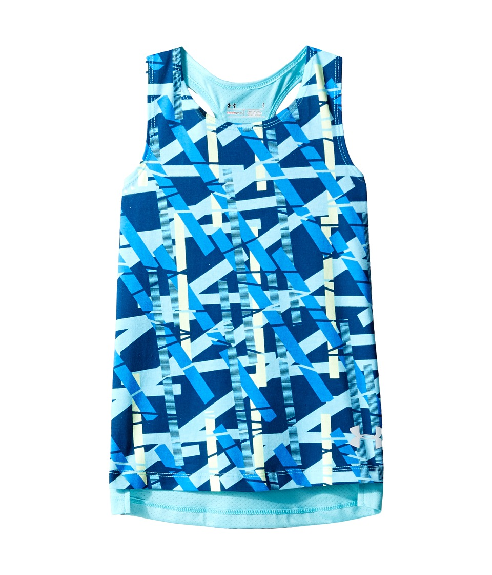 Under Armour Kids - UA Mixmaster Tank Top (Little Kids) (Venetian Blue) Girl's Sleeveless