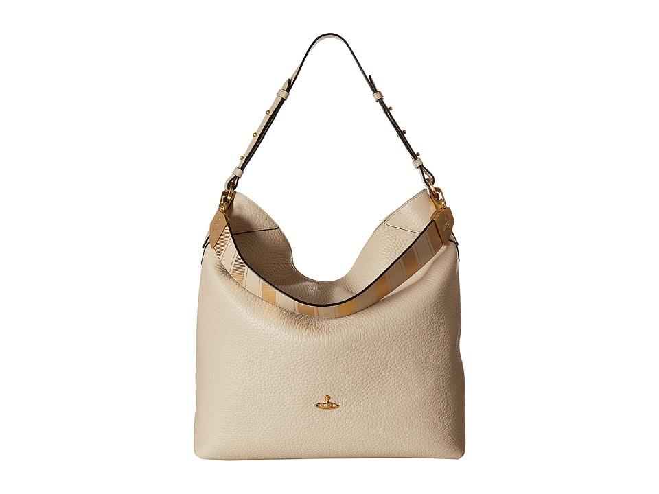Vivienne Westwood - Hobo BeLgravia (Beige) Hobo Handbags