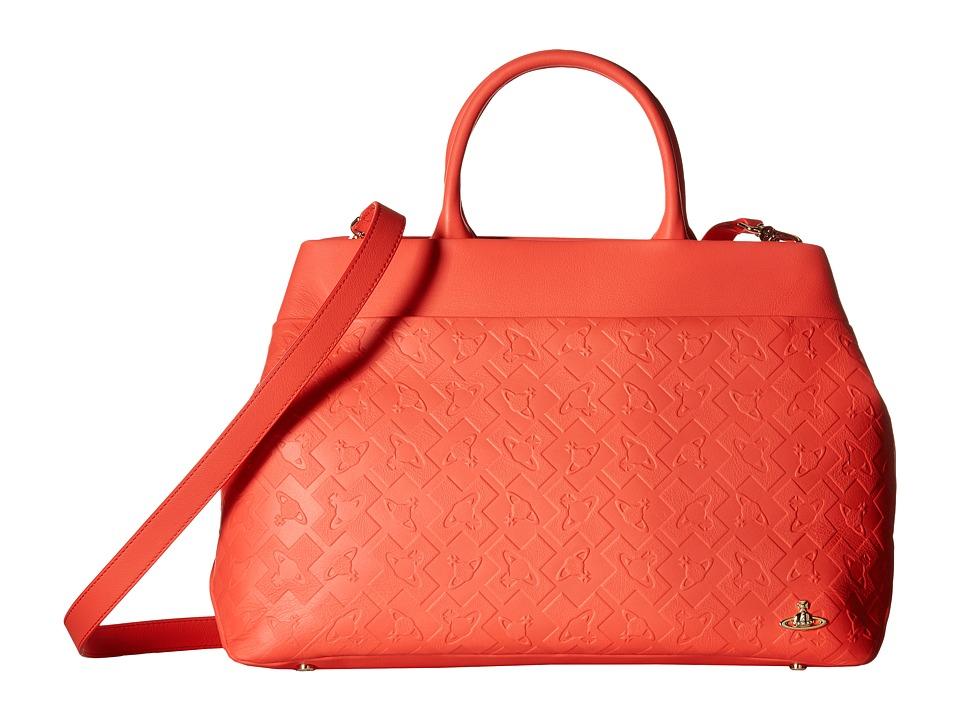 Vivienne Westwood - Tote Bag Harrow (Red) Tote Handbags