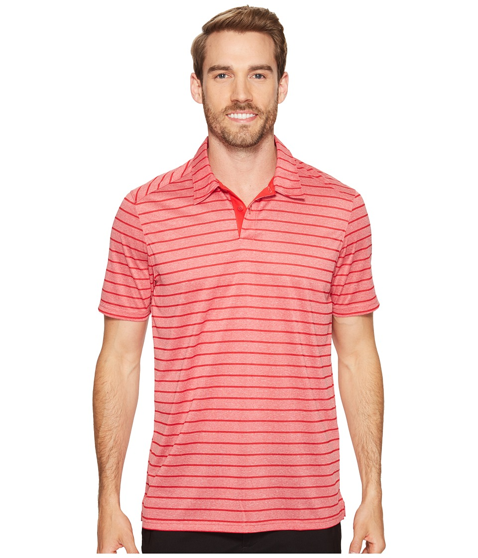 Oakley - Top Stripe Polo (Red Line) Men's Clothing