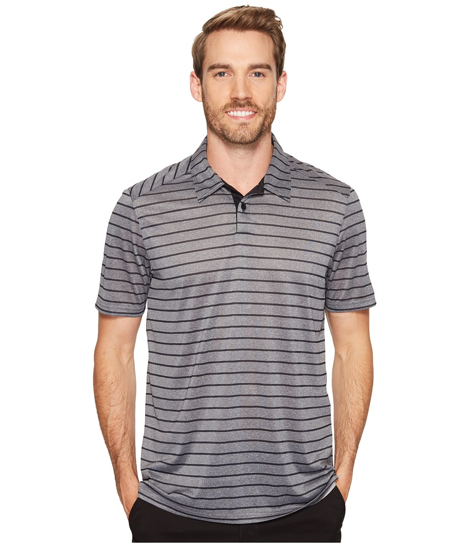 Oakley - Top Stripe Polo (Blackout) Men's Clothing