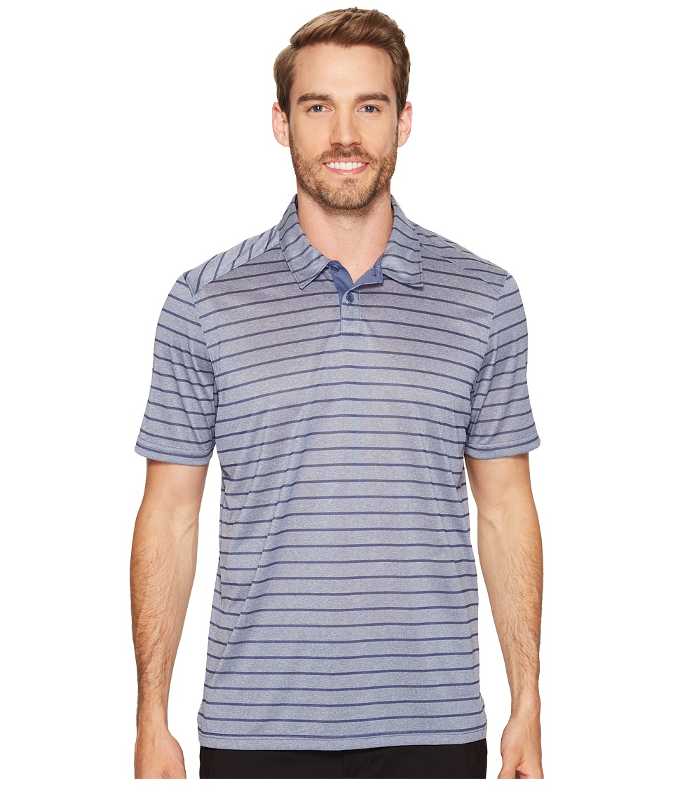 Oakley - Top Stripe Polo (Blue Indigo) Men's Clothing