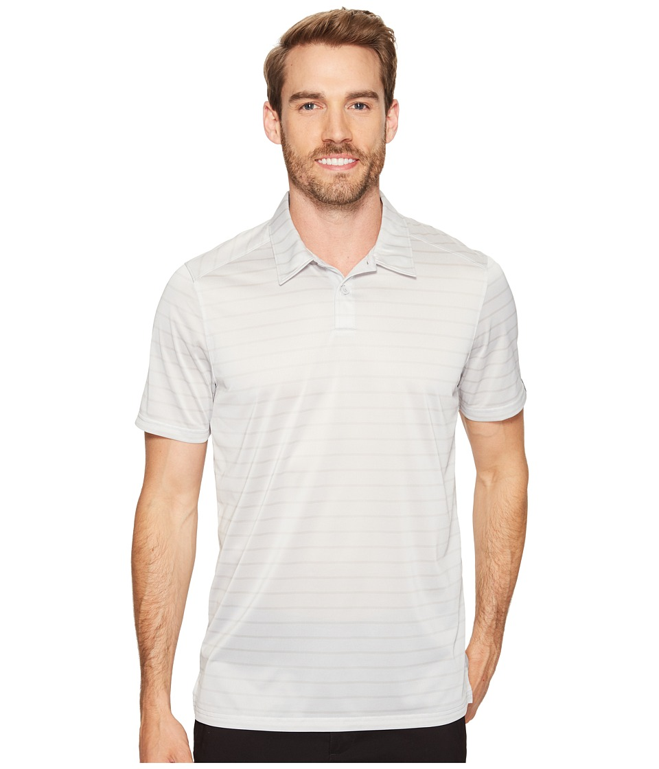 Oakley - Top Stripe Polo (Light Grey) Men's Clothing