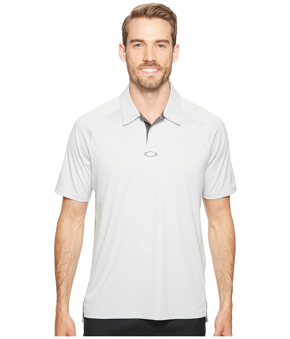 Oakley - Theory Polo (Light Grey) Men's Clothing