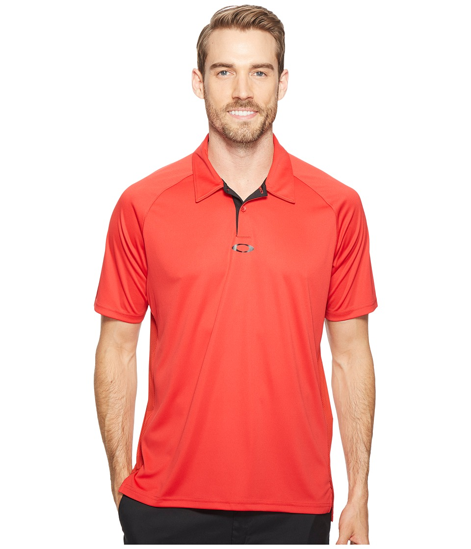 Oakley - Theory Polo (Red Line) Men's Clothing