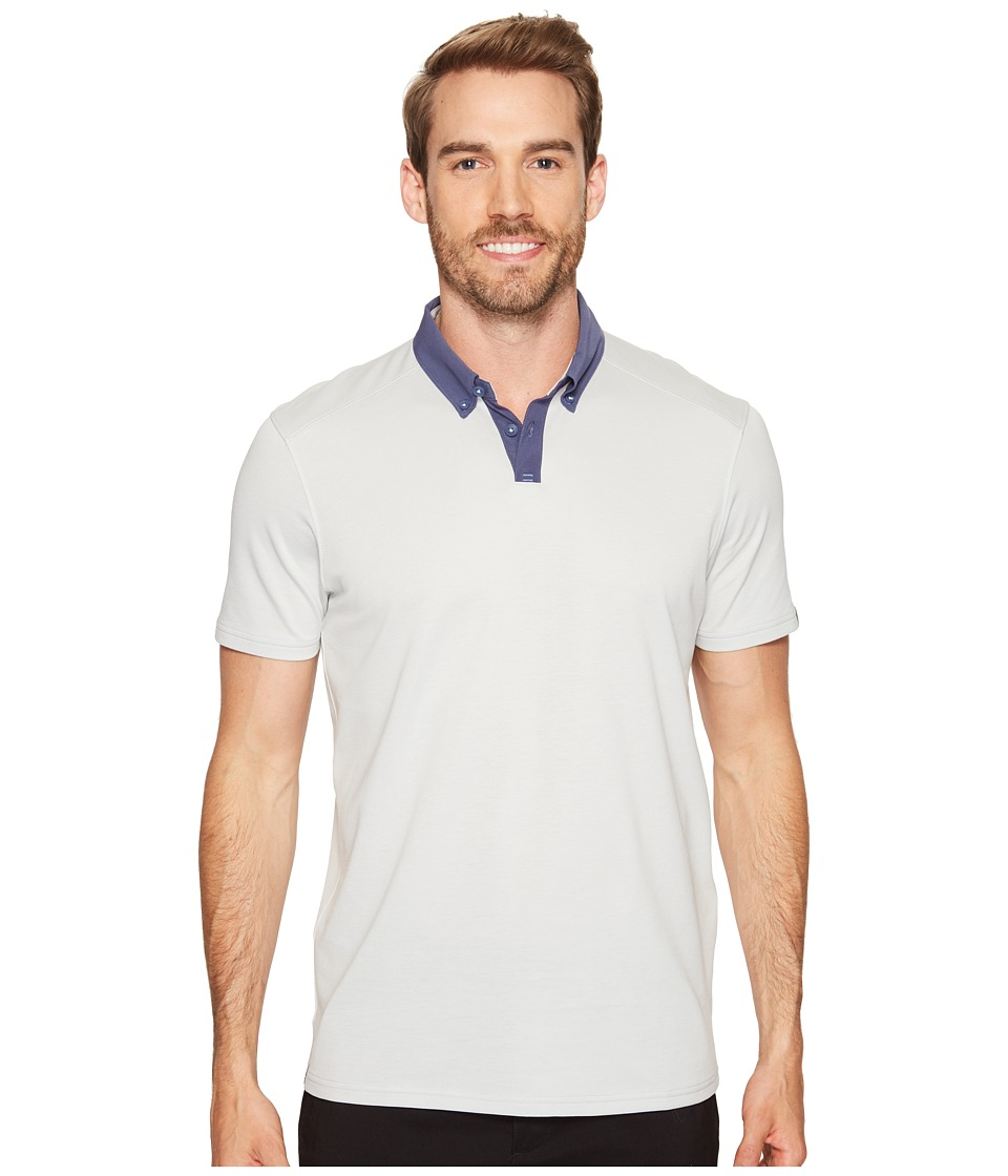 Oakley - Native Polo (Light Grey) Men's Clothing