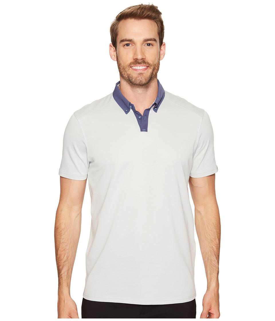 Oakley - Native Polo (Light Grey) Men's Clothing