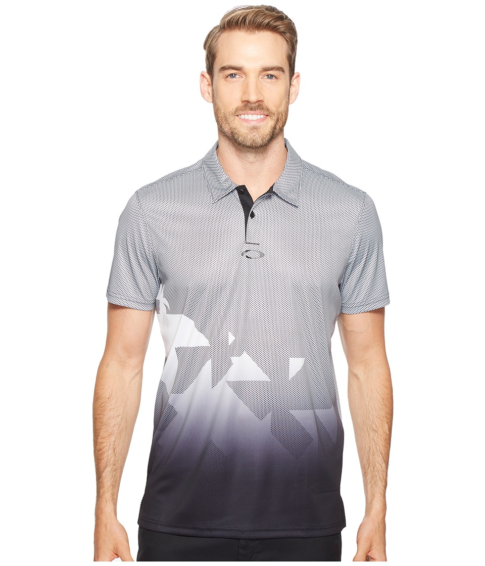 Oakley - Offset Urban Polo (Blackout) Men's Clothing