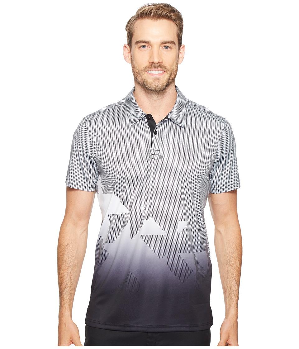 Oakley - Offset Urban Polo (Blackout) Men's Clothing