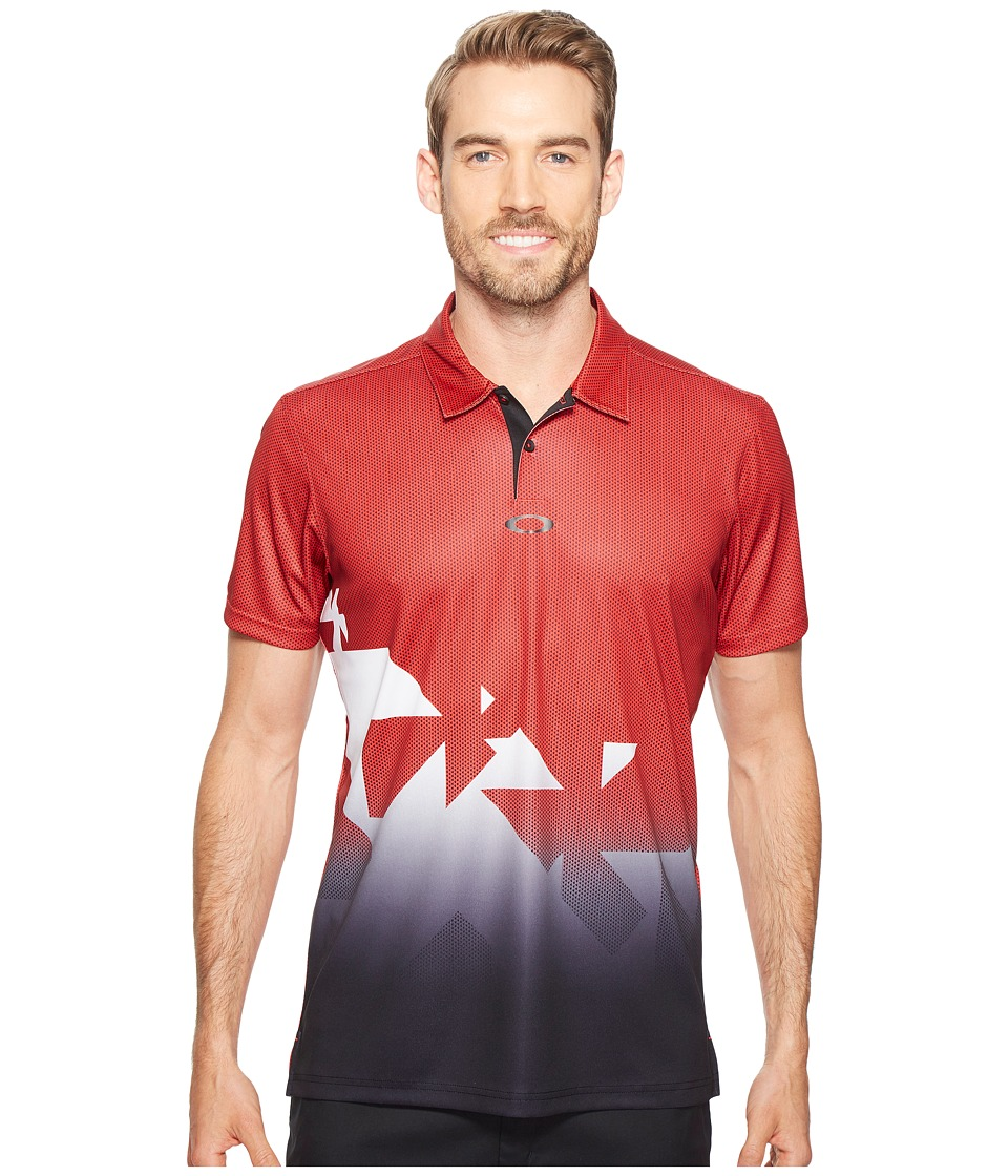 Oakley - Offset Urban Polo (Red Line) Men's Clothing