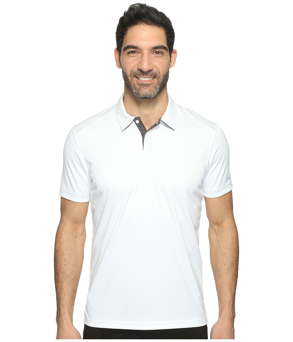 Oakley - Divisonal Polo (White) Men's Clothing