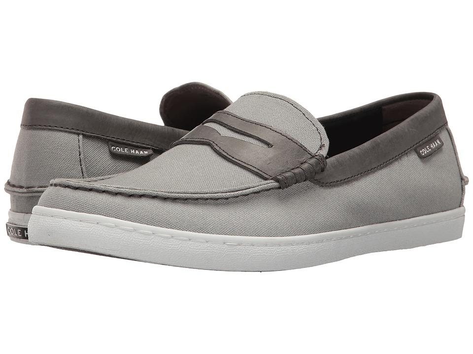 Cole Haan - Nantucket Loafer (Sleet Canvas/Magnet) Men's Shoes