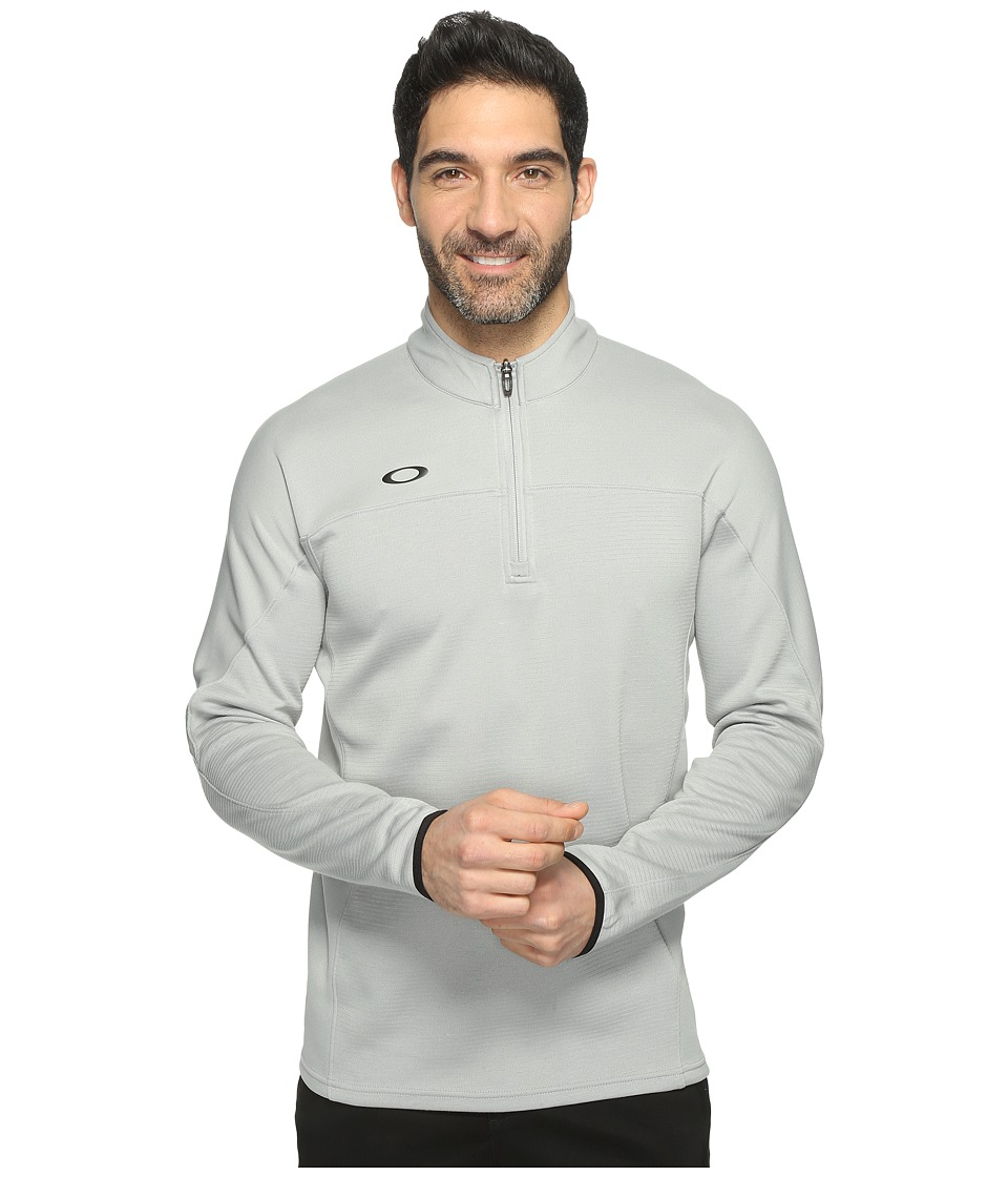 Oakley - Gridlock Pullover (Stone Gray) Men's Clothing