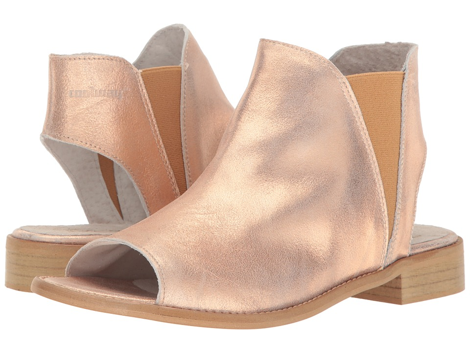 Coolway - 1Ciara (Salmon Leather) Women's Shoes