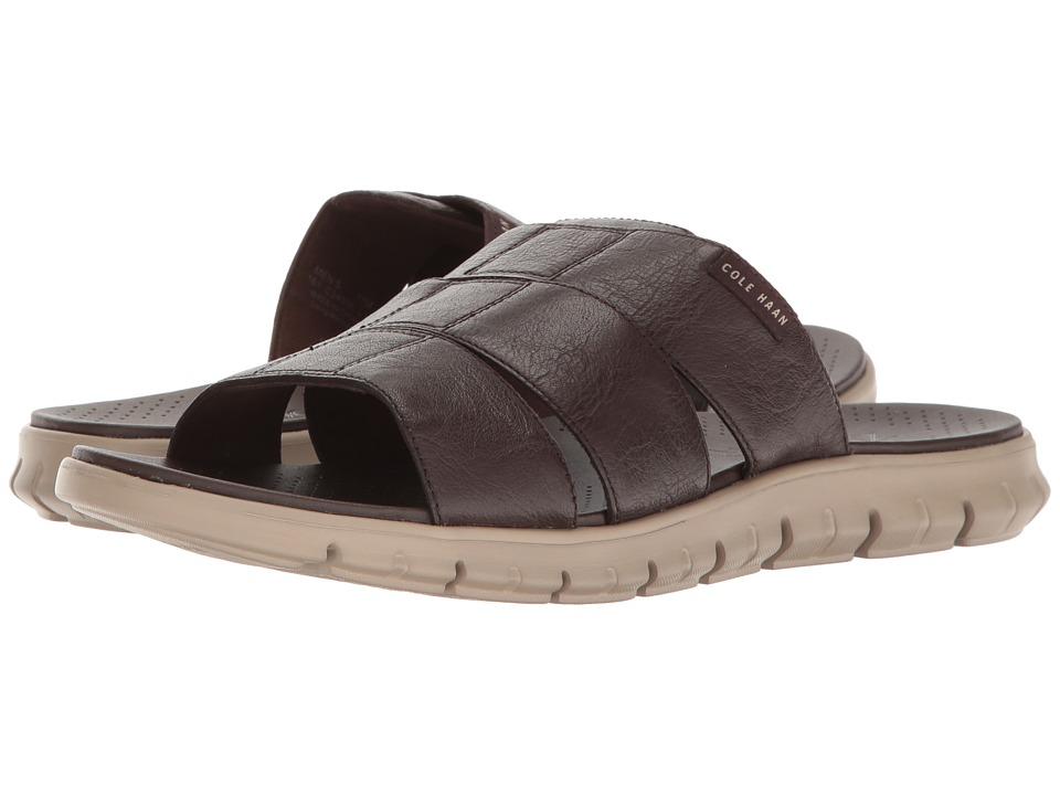 Cole Haan - Zerogrand 3 Strap Slide (Java/Cobblestone) Men's Slide Shoes