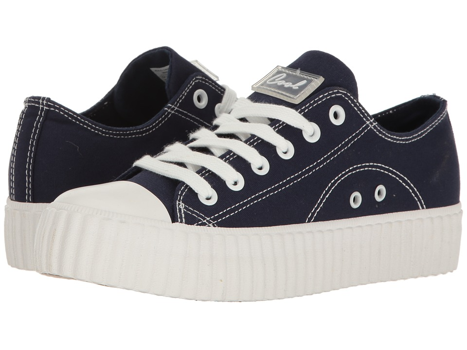 Coolway - Britney (Navy Canvas) Women's Shoes