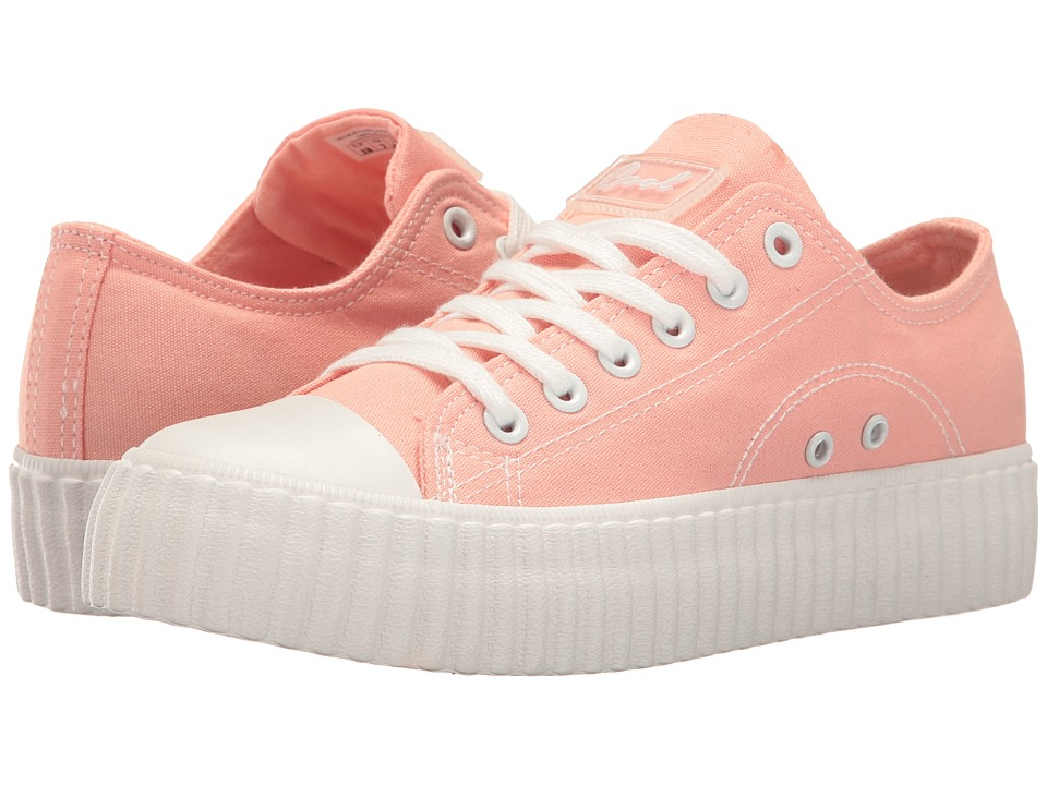 Coolway - Britney (Pink Canvas) Women's Shoes