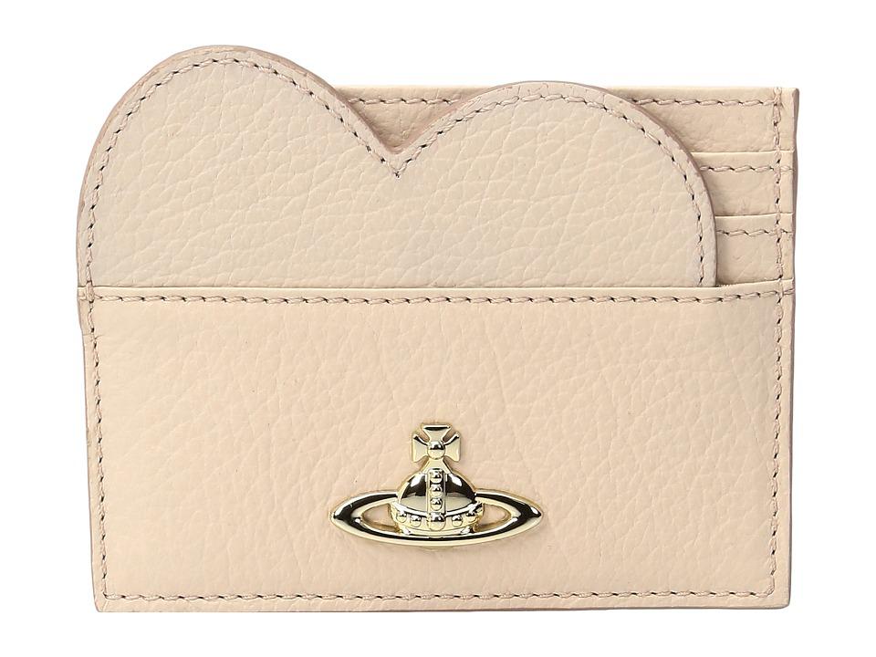 Vivienne Westwood - Heart Credit Card Balmoral (Pink) Credit card Wallet