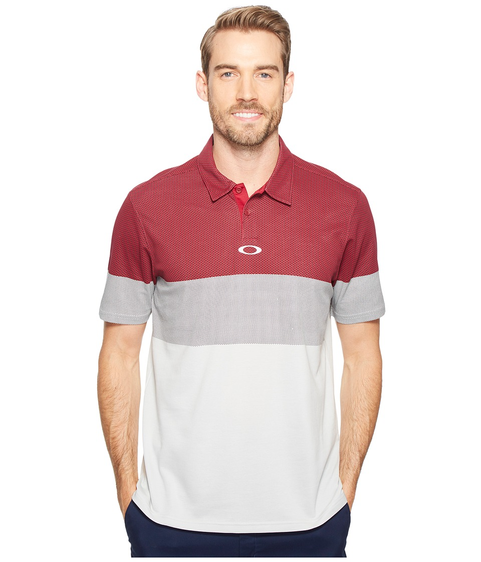 Oakley - Premier Urban Polo (Ember) Men's Clothing