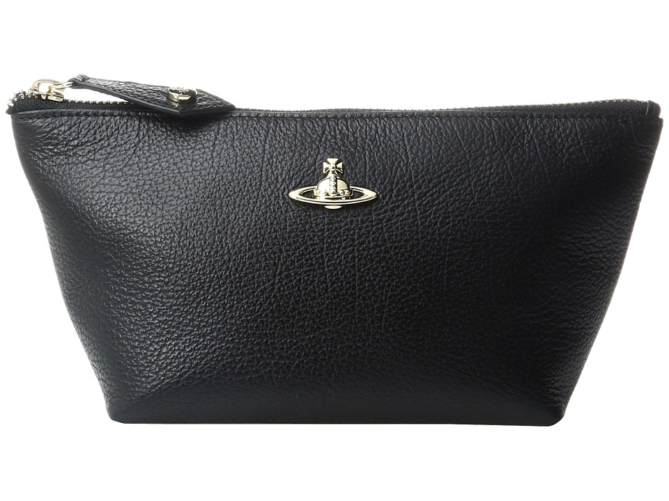 Vivienne Westwood - Beauty Case Balmoral (Black) Handbags