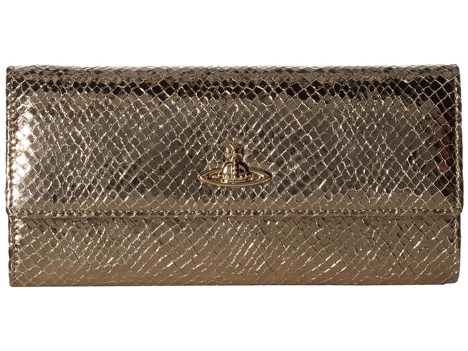 Vivienne Westwood - Long Wallet Verona (Gold) Wallet Handbags
