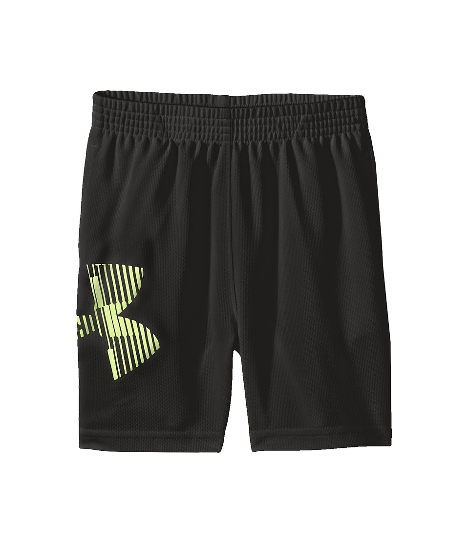 Under Armour Kids - Striker Shorts (Toddler) (Black 1) Boy's Shorts