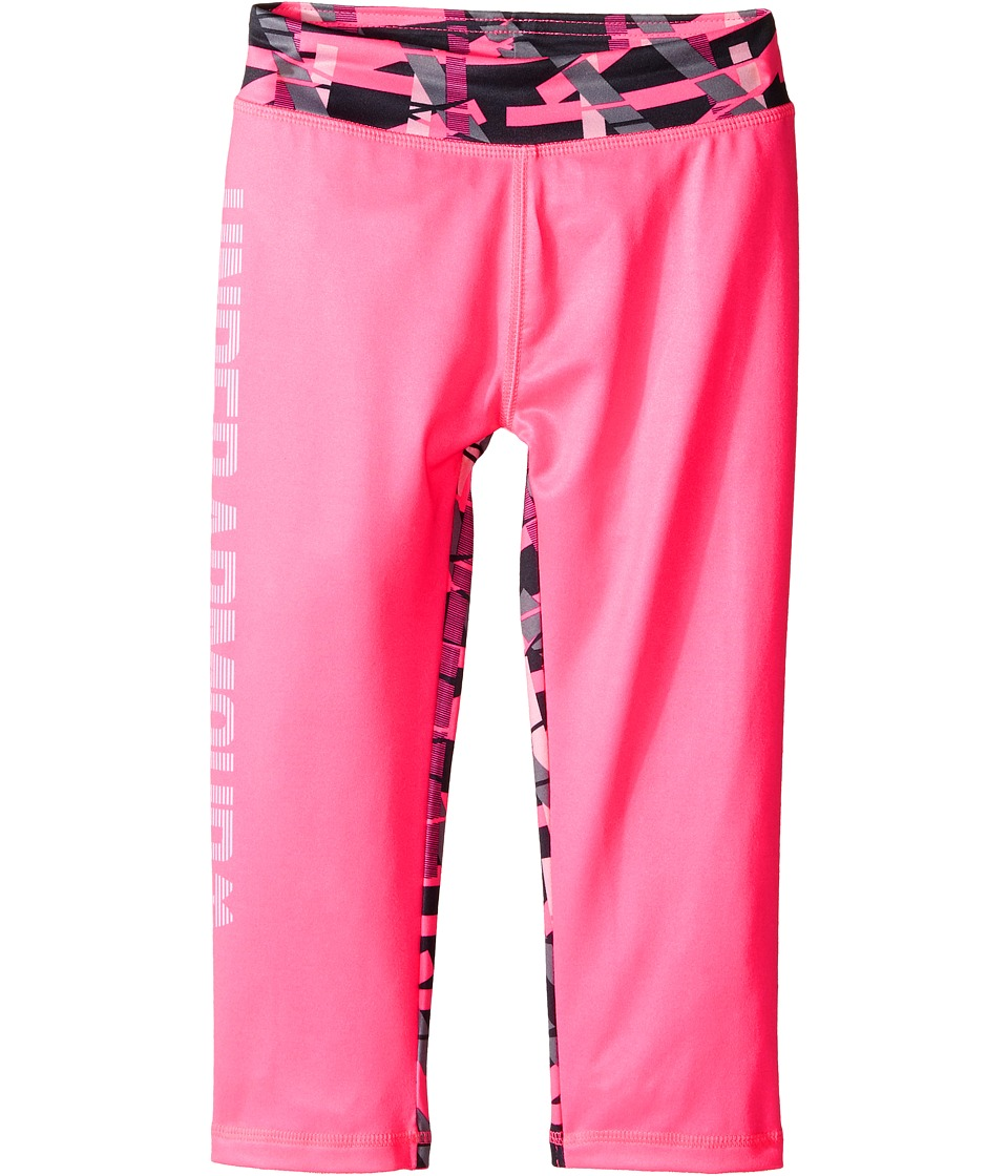 Under Armour Kids - Mix Master Capris (Little Kids) (Pink Punk) Girl's Capri