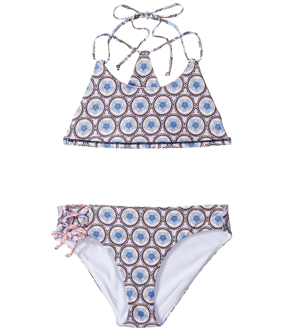 O'Neill Kids - Evie Revo Bralette Top Set (Big Kids) (Multi) Girl's Swimwear Sets