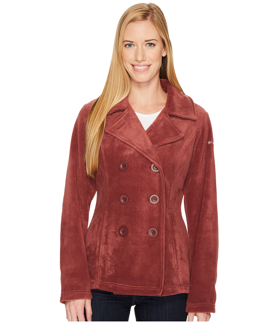 Columbia Benton Springs Peacoat (Bloodstone) Women