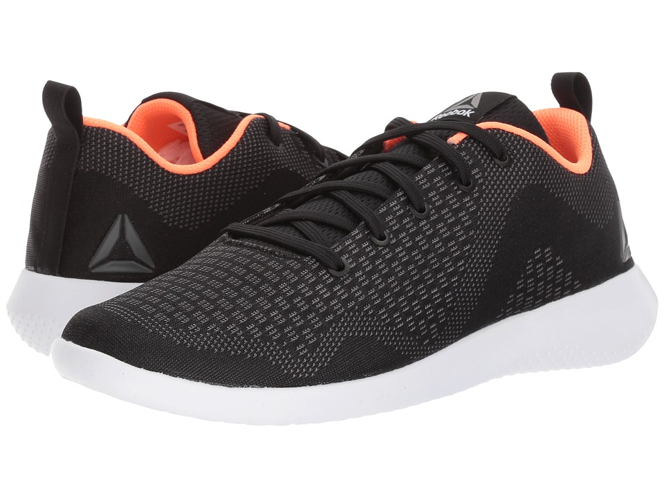 Reebok - Esoterra DMX Lite (Coal/Black/Guava Punch/White) Women's Walking Shoes