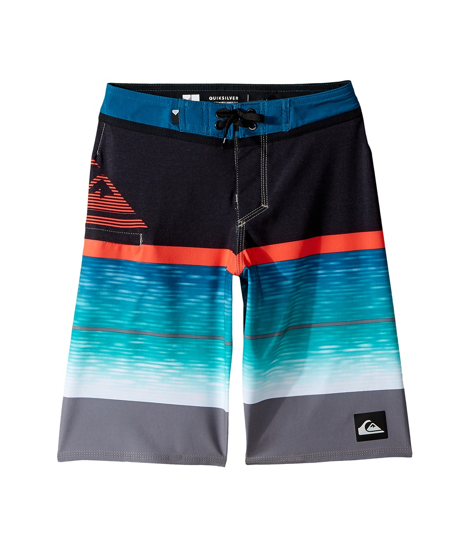 Quiksilver Kids Slab Logo Vee 18 Boardshorts (Big Kids) (Quiet Shade) Boy