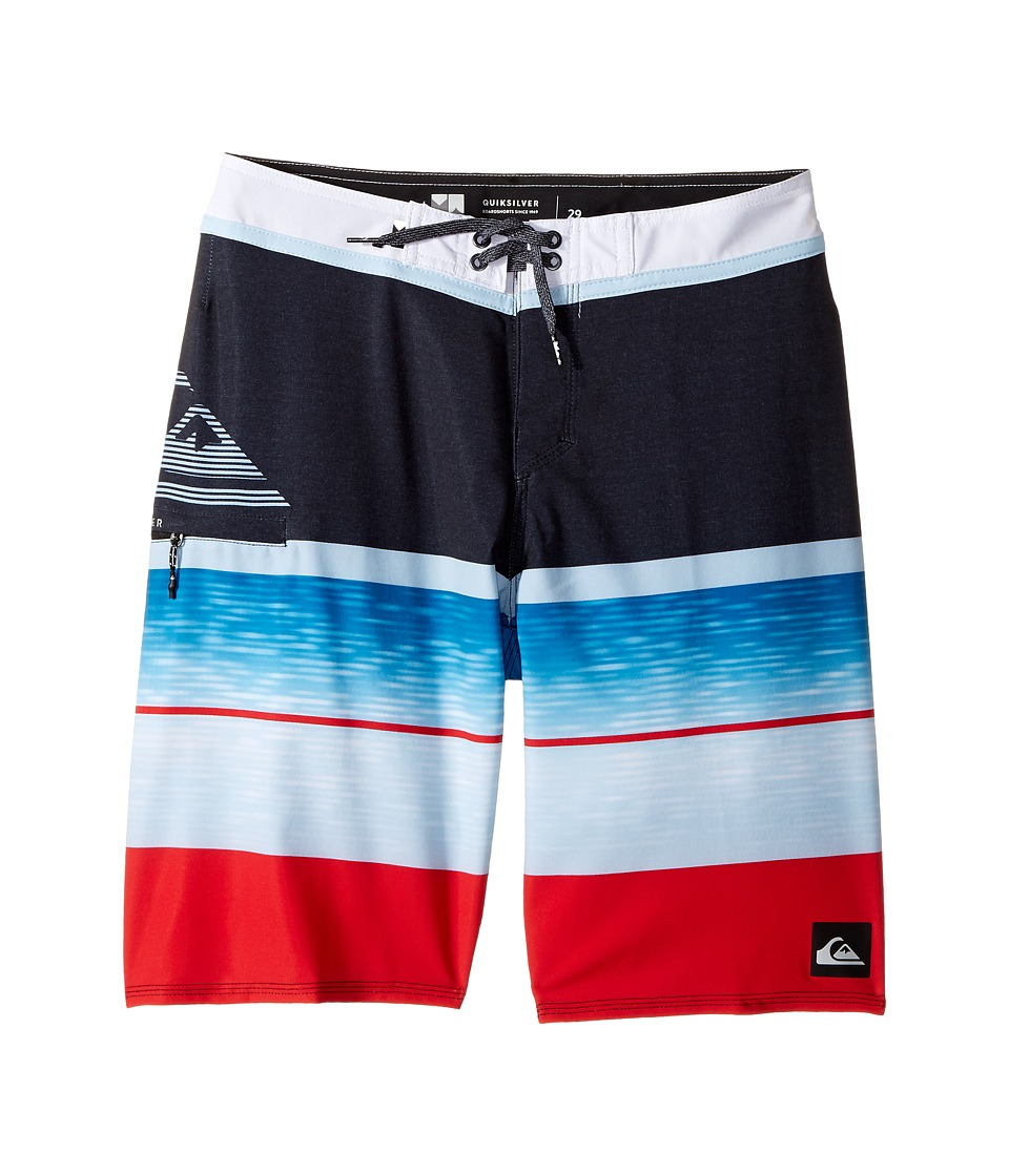 Quiksilver Kids Slab Logo Vee 18 Boardshorts (Big Kids) (Quik Red) Boy