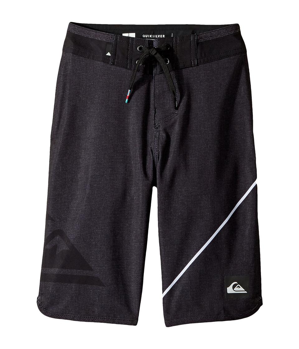 Quiksilver Kids - New Wave Everyday 19 Boardshorts (Big Kids) (Black) Boy's Swimwear