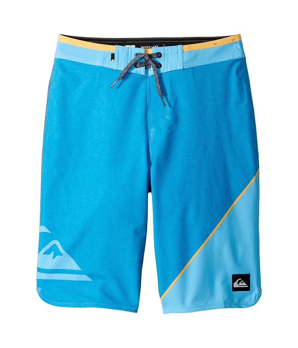 Quiksilver Kids New Wave Everyday 19 Boardshorts (Big Kids) (Bonnie Blue) Boy