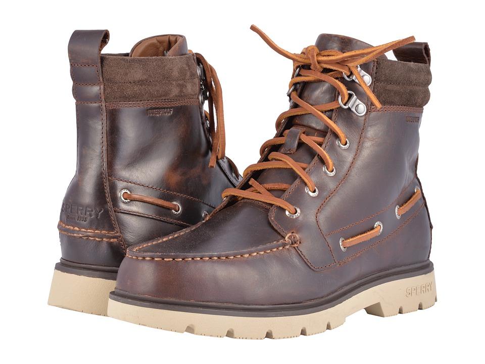 Sperry A/O Lug Boot WP (Brown 1) Men