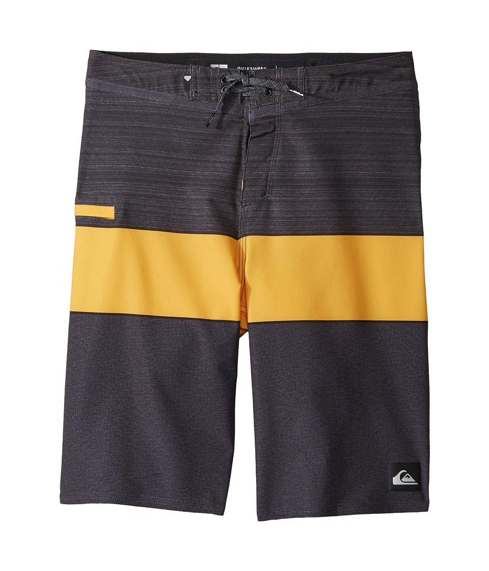 Quiksilver Kids Everyday Blocked Vee 19 Boardshorts (Big Kids) (Tarmac) Boy