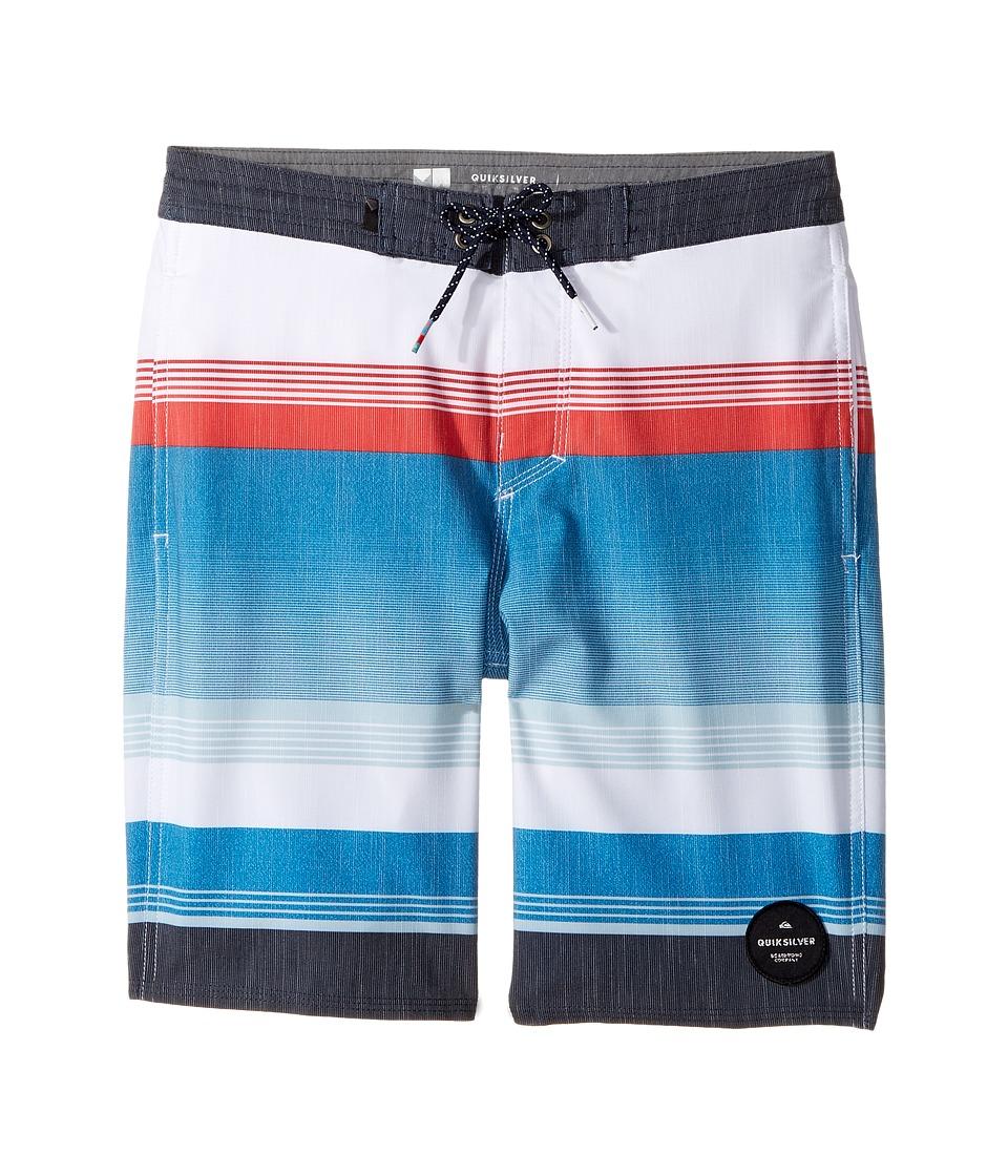 Quiksilver Kids - Swell Vision Beachshort 17 (Big Kids) (Estate Blue) Boy's Swimwear