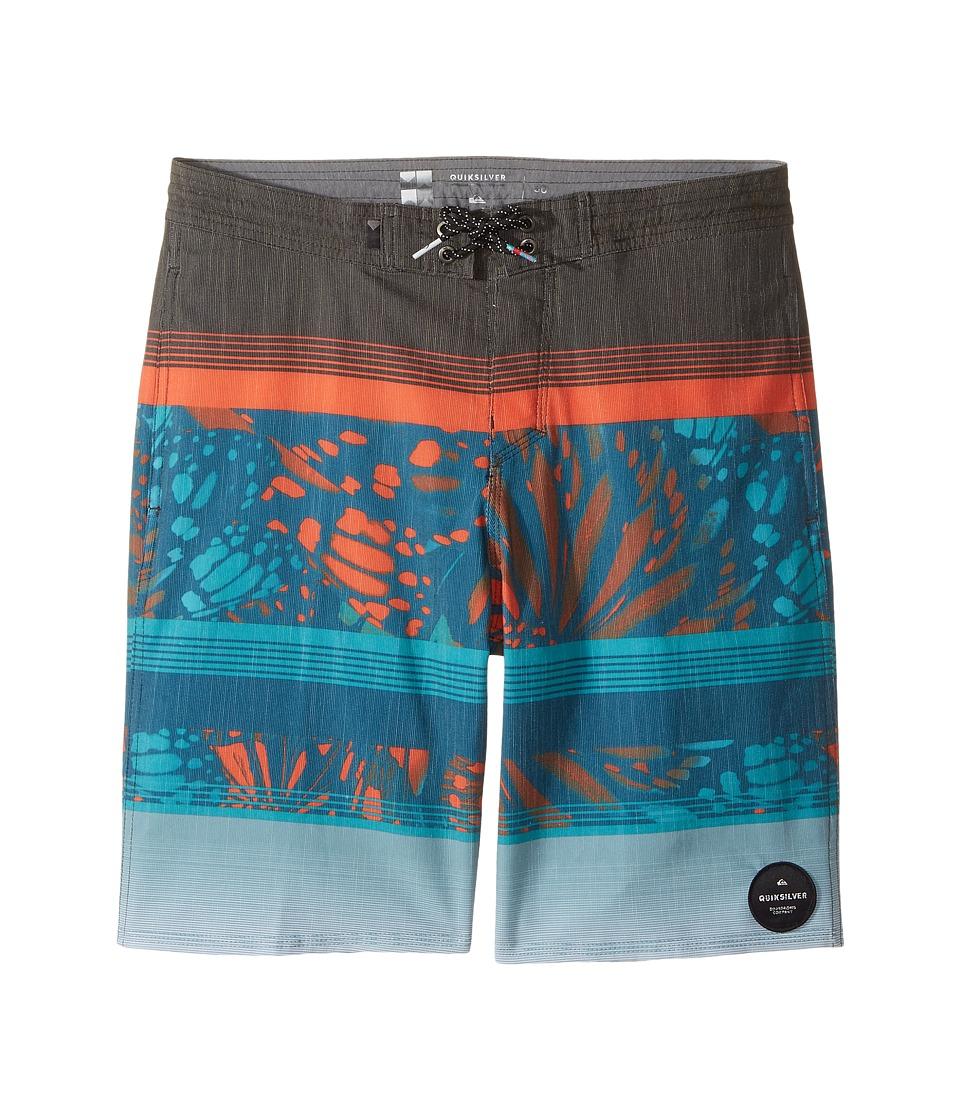 Quiksilver Kids - Swell Vision PR Beachshort 17 (Big Kids) (Tarmac) Boy's Swimwear