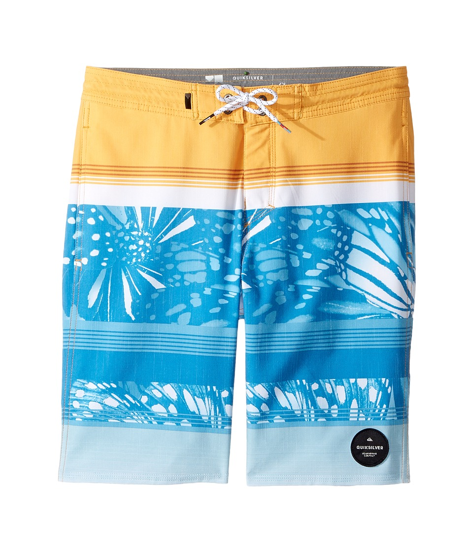 Quiksilver Kids - Swell Vision PR Beachshort 17 (Big Kids) (Artisian Gold) Boy's Swimwear