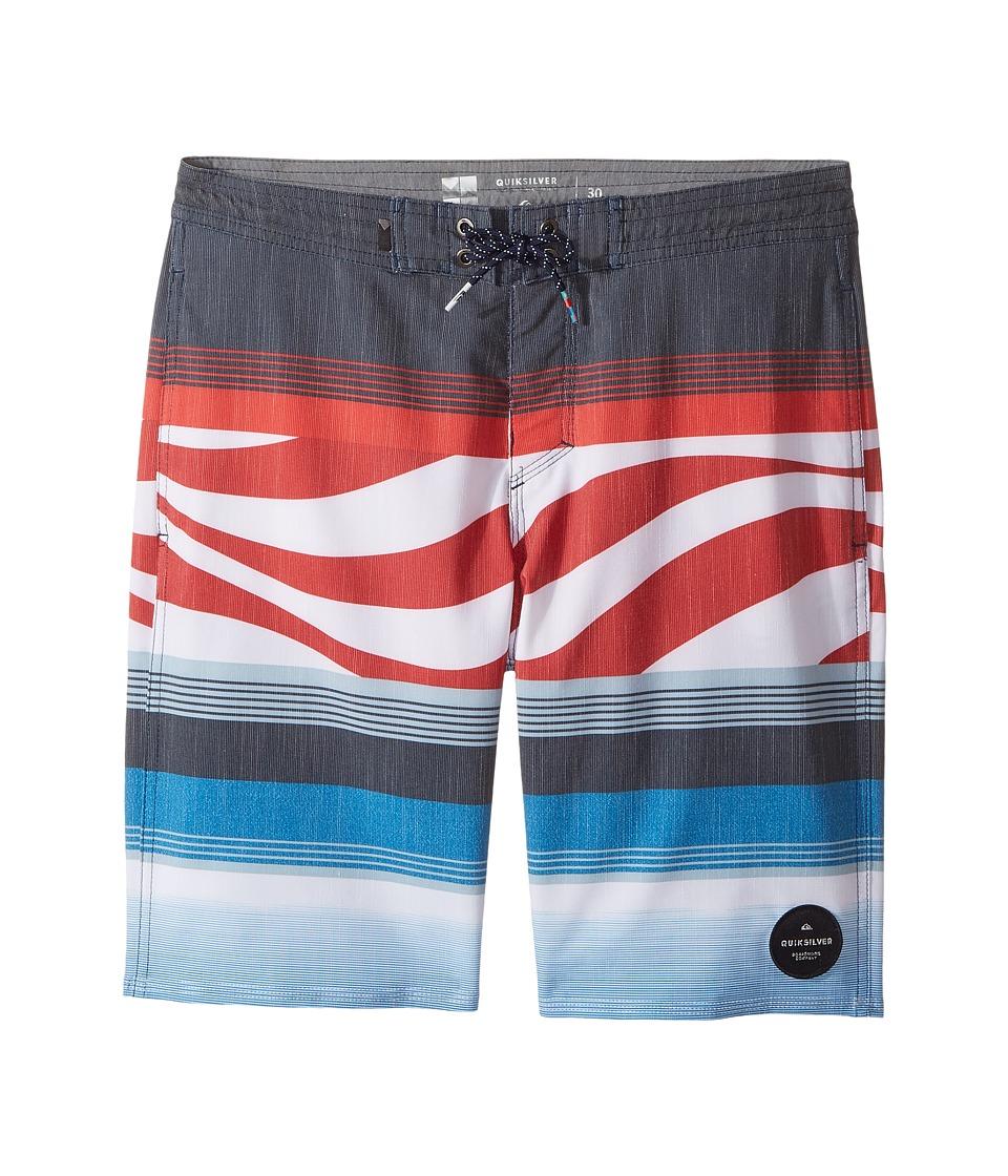 Quiksilver Kids - Swell Vision PR Beachshort 17 (Big Kids) (Imperial Blue) Boy's Swimwear
