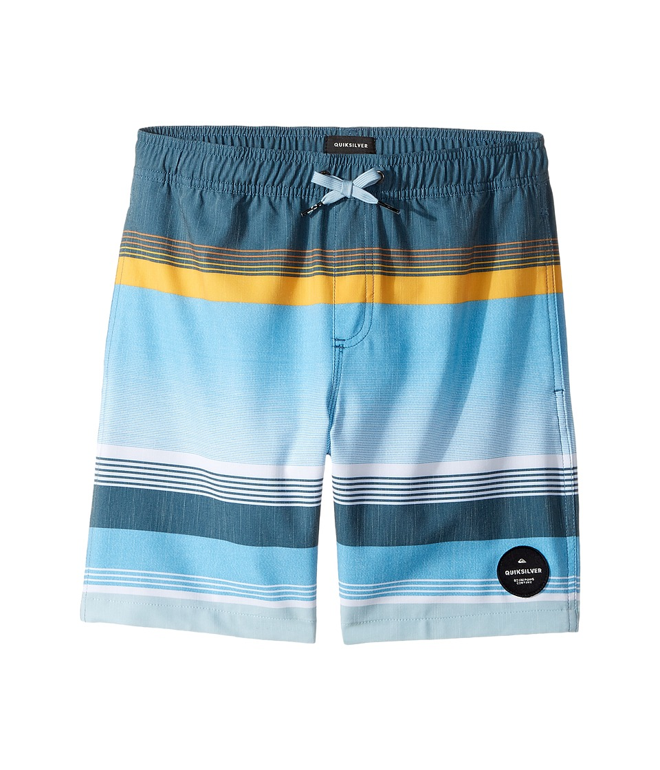 Quiksilver Kids - Swell Vision Volley 15 (Big Kids) (Indian Teal) Boy's Swimwear